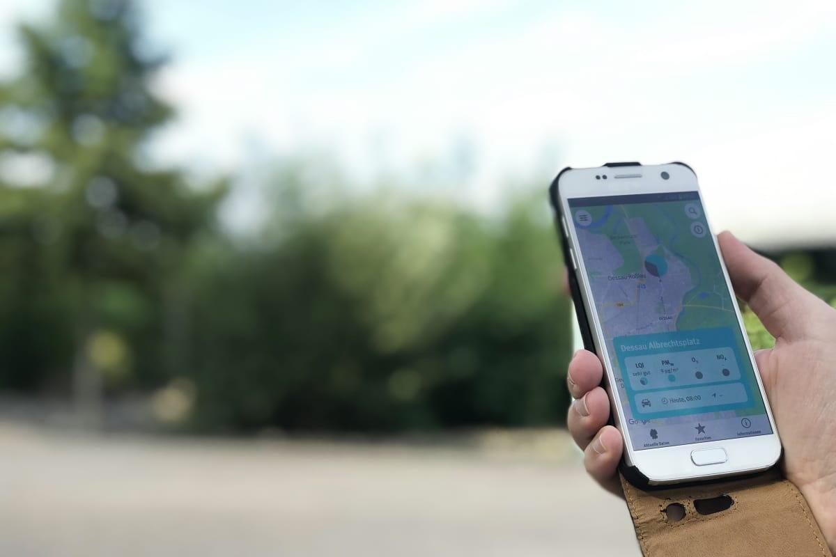 Umweltbundesamt startet App zur Luftqualität