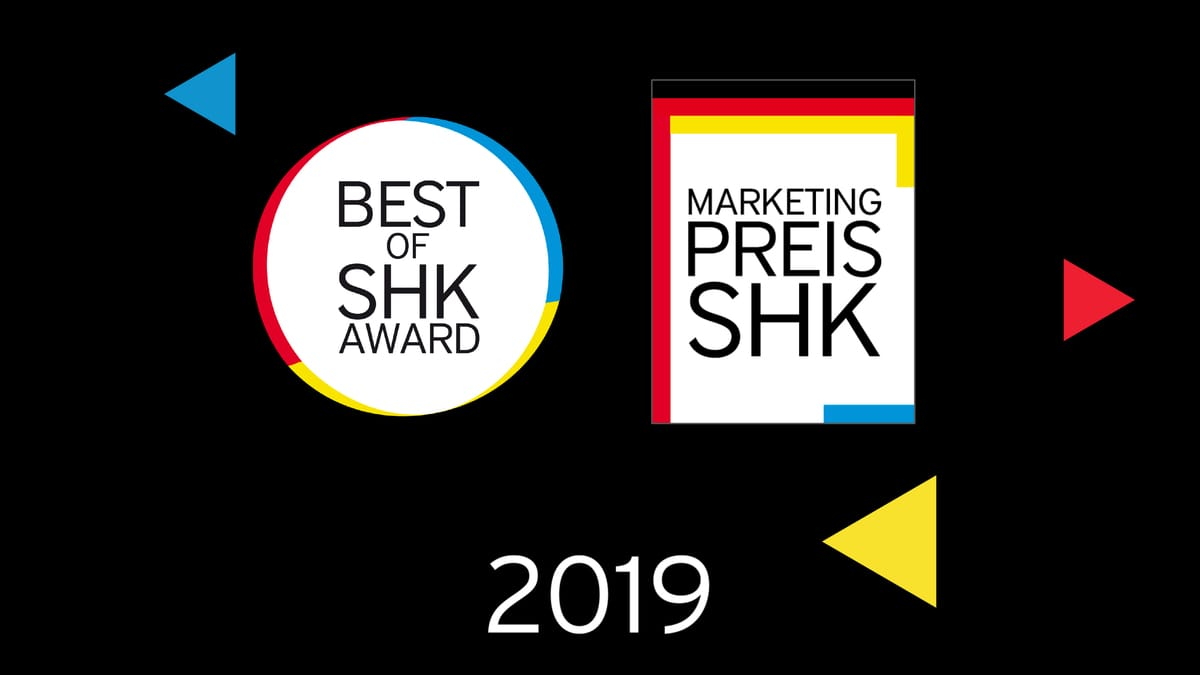 Video: Marketingpreis für das deutsche SHK-Handwerk und Best of SHK Award 2019