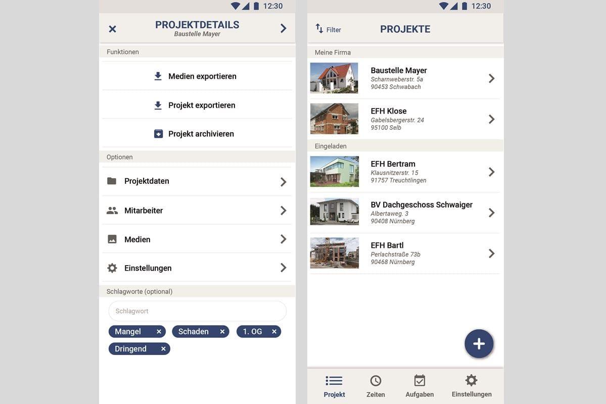 WerkerApp zur Baustellendokumentation in neuer Version