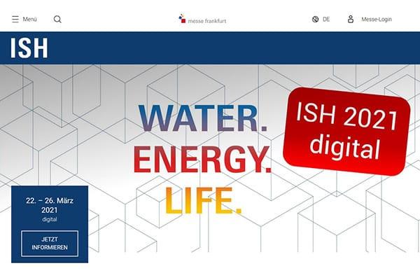 ISH 2021 findet online statt