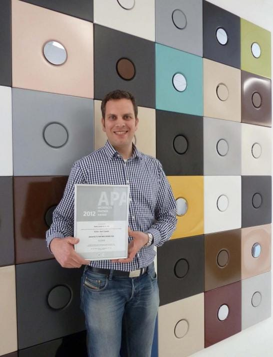Bette erhält Architects-Partner-Award in Silber