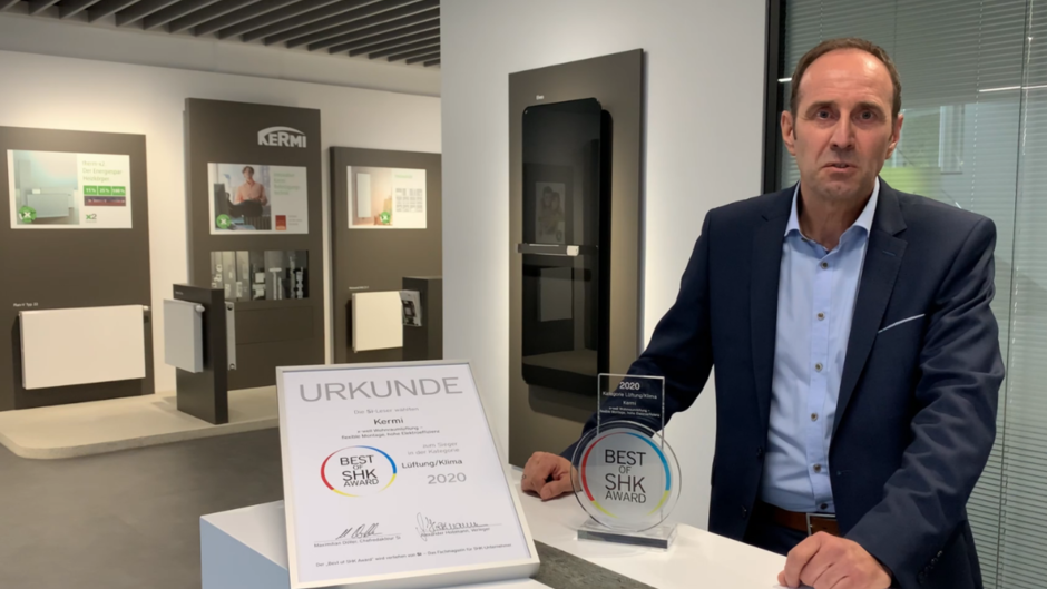 Video: Best of Award 2020: Preisverleihung an die Kermi GmbH