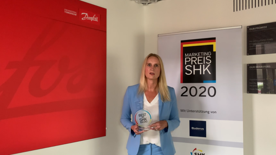 Video: Best of Award 2020: Preisverleihung an die Danfoss GmbH