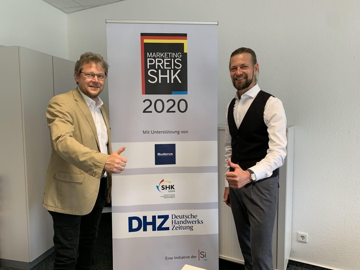 """Unterstützer des """"Marketingpreis für das deutsche SHK-Handwerk 2020"""""""