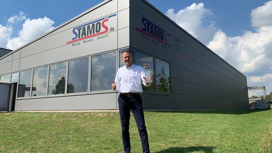 Video: Preisverleihung an die Stamos GmbH