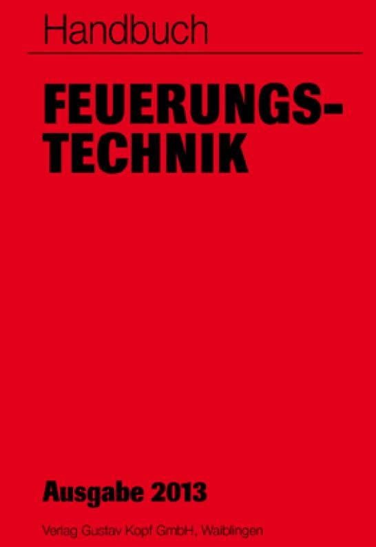 Handbuch Feuerungstechnik mit neuer Auflage