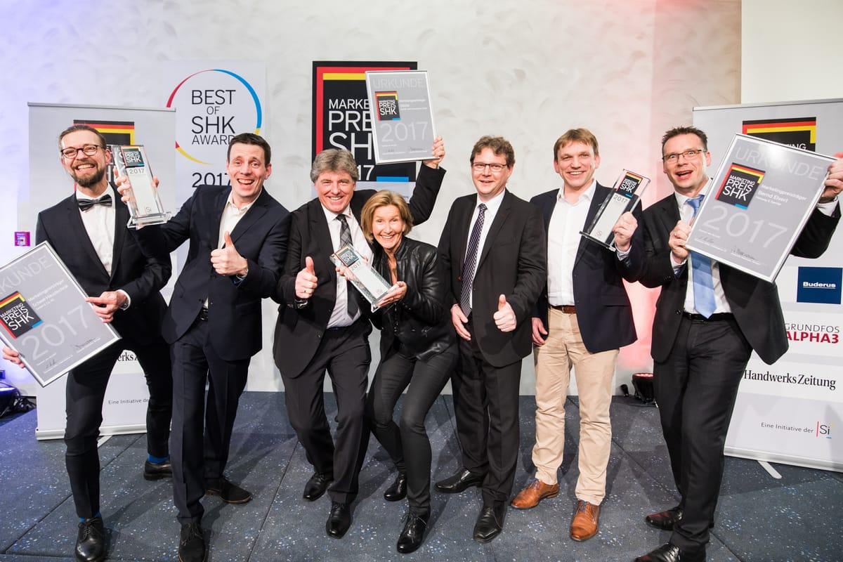 Marketingpreis und Best of SHK Awards 2017