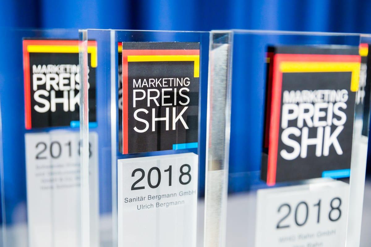 Marketingpreis und Best of SHK Awards 2018