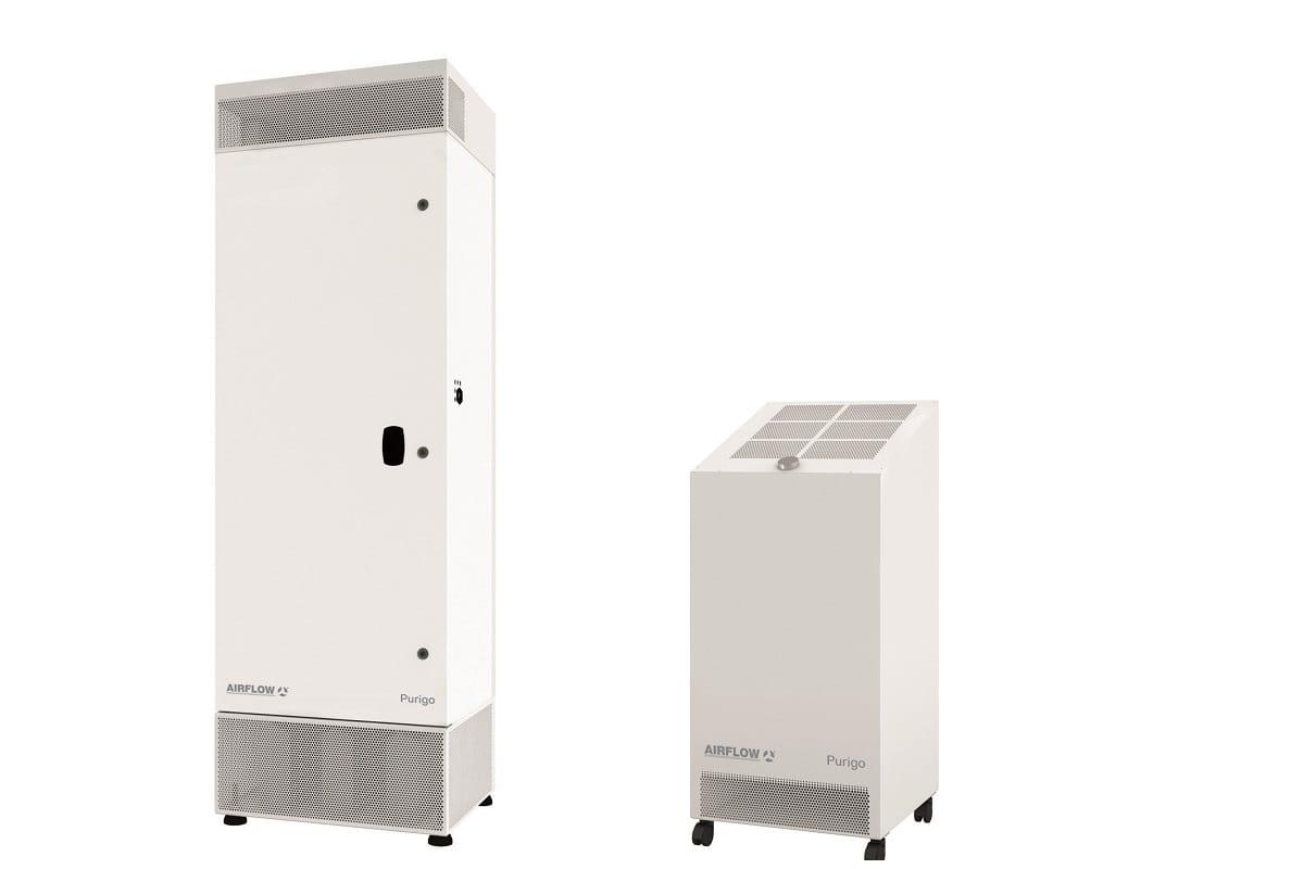 Luftreiniger-Serie: Ideal für Büros, Konferenz- und Klassenräume