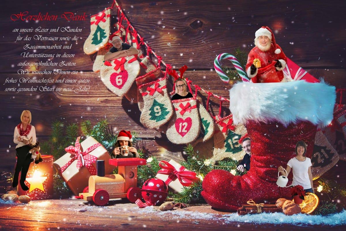 Herzlichen Dank und Weihnachts-Gewinnspiel