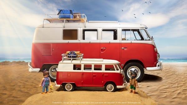 VW-Bulli erstmals auch als Playmobil-Miniatur erhältlich