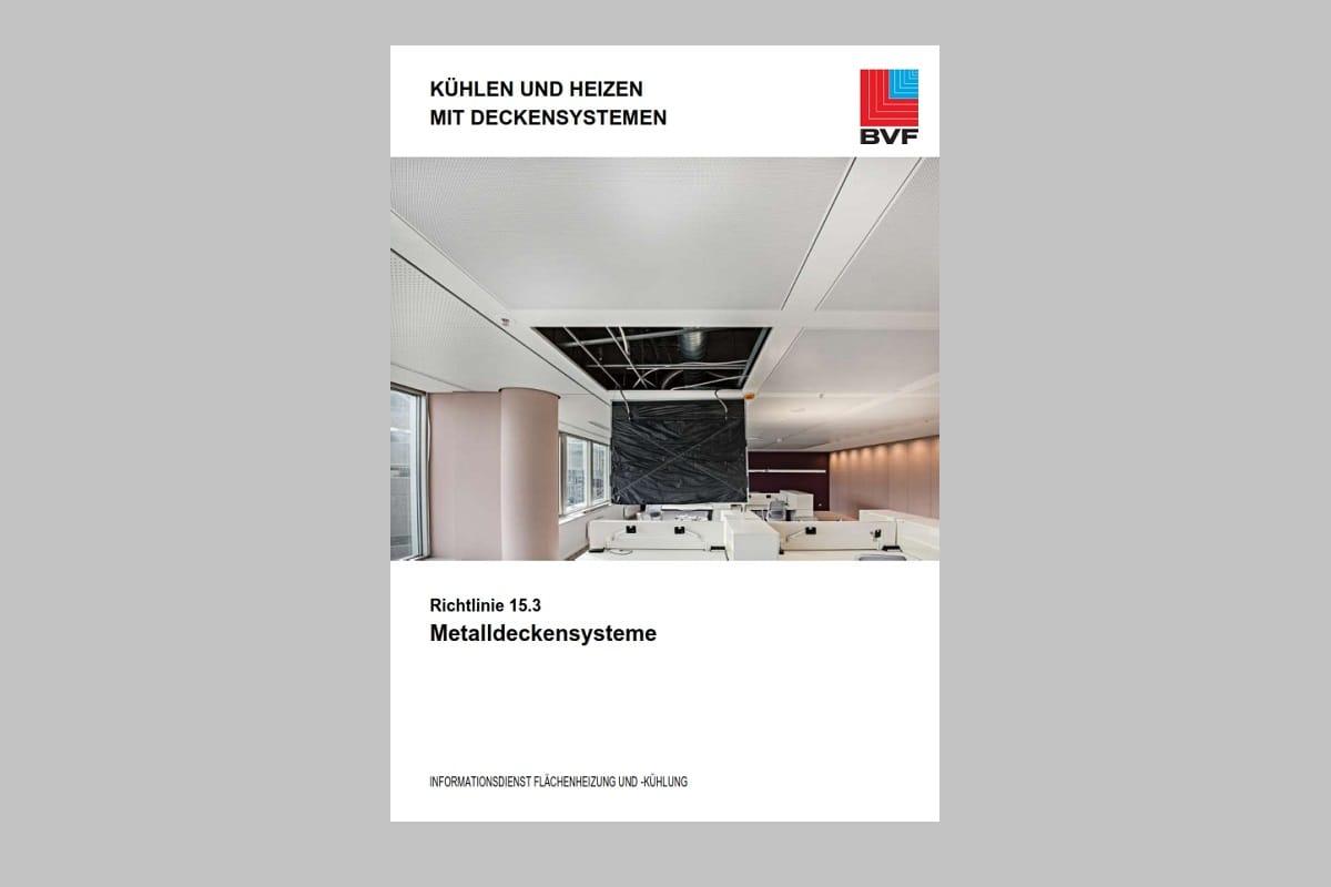 BVF-Richtlinie 15.3 Metalldeckensysteme