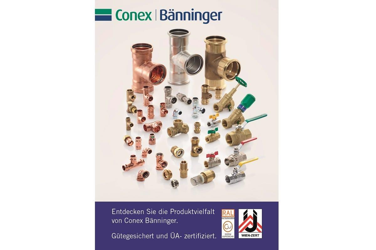 ÜA- und RAL-Kennzeichnung: Conex Bänninger Produkte zertifiziert