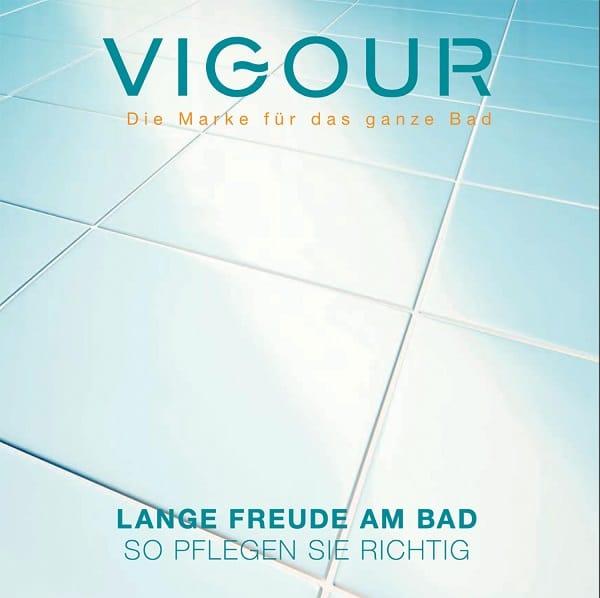 Pflegefibel und Clean-Card von Vigour