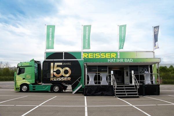 Trucktour, Roadshow und neue Eigenmarken der Reisser AG