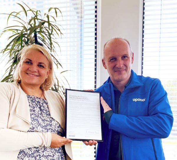 Uponor unterzeichnet Charta der Vielfalt