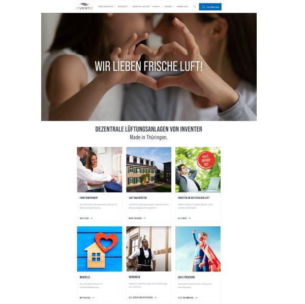 inVenter präsentiert sich mit neuem, erfrischendem Webauftritt