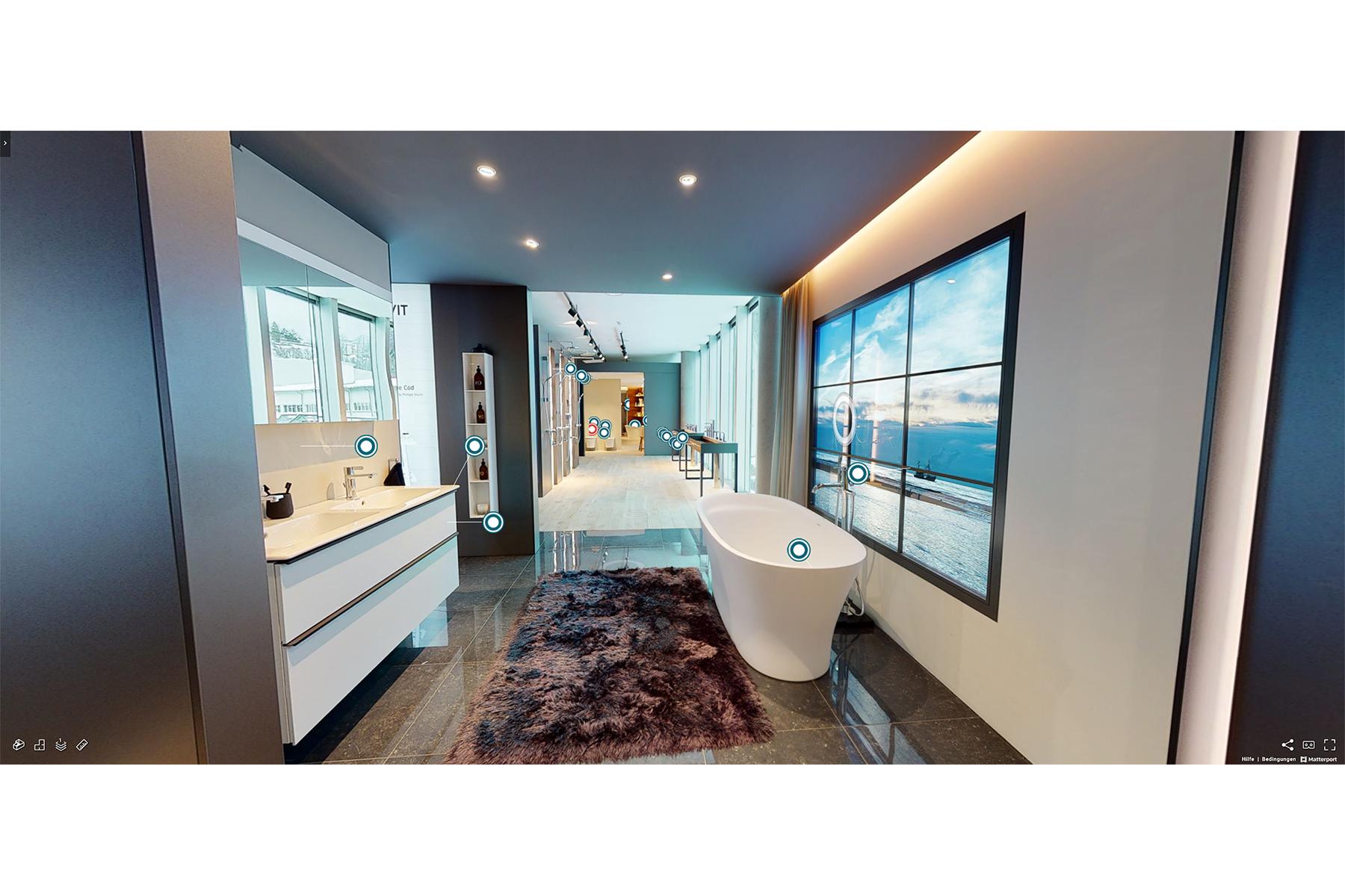 Duravit Design Center als virtueller Showroom