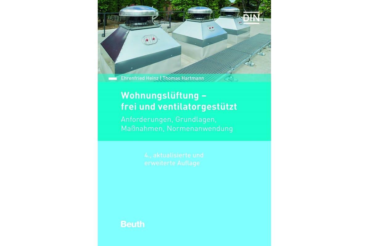 """Buch """"Wohnungslüftung – frei und ventilatorgestützt"""""""