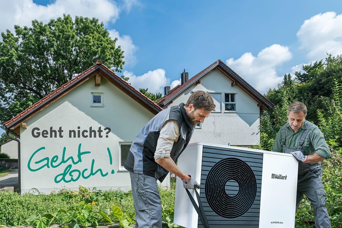 Vaillant ruft Wärmepumpen-Modernisierungs-Challenge aus