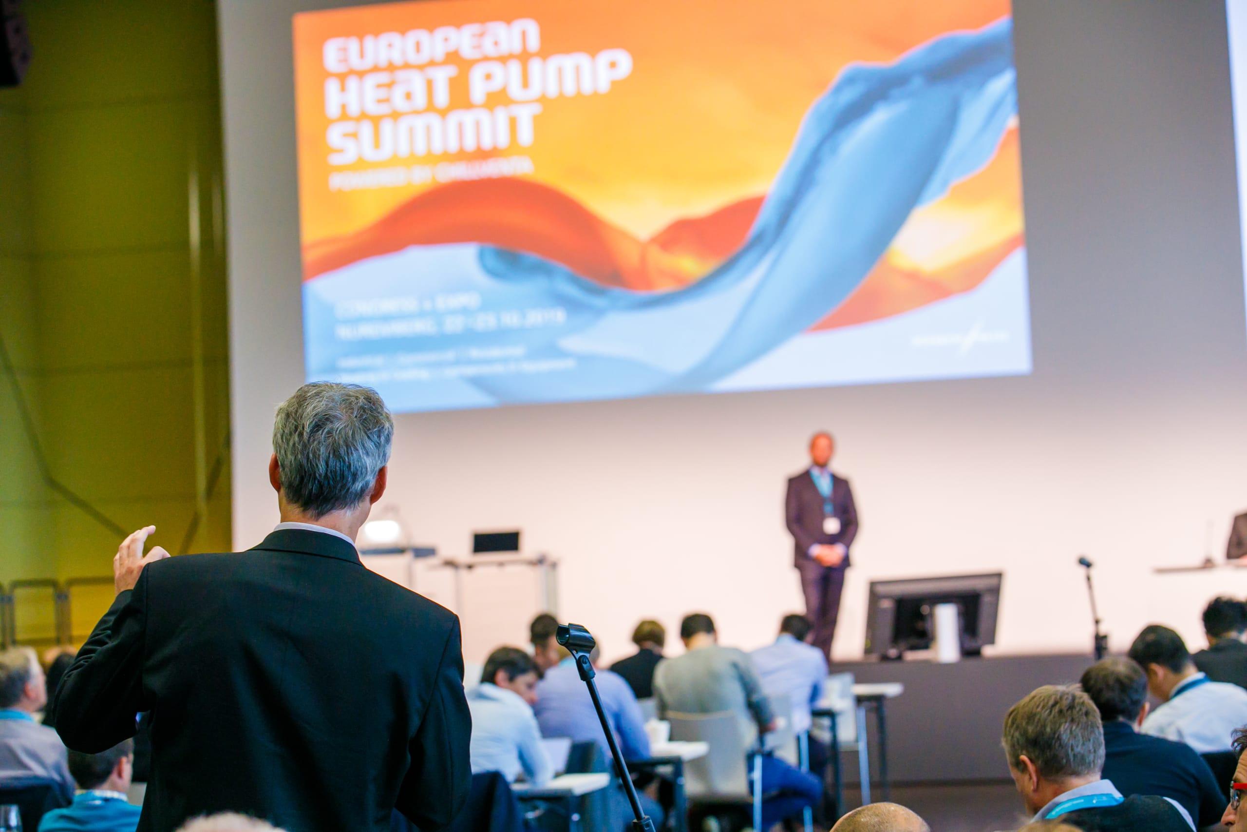 European Heat Pump Summit 2021 startet live vor Ort